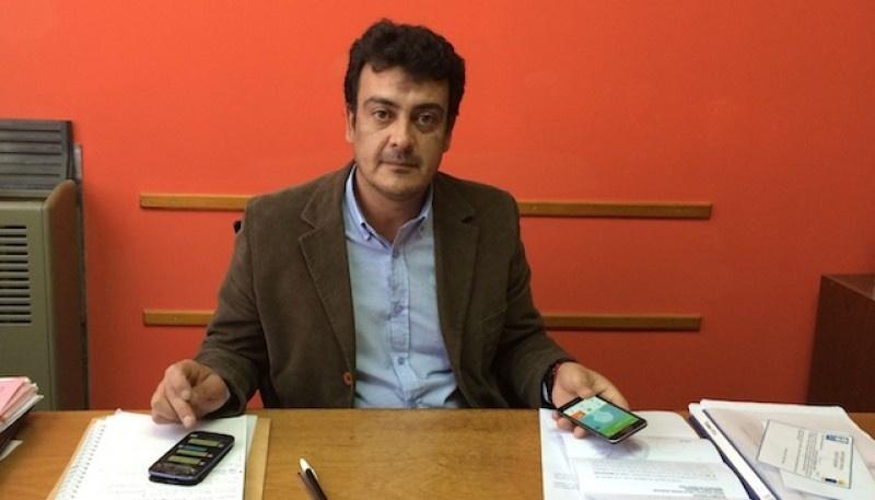 Gustavo González, jefe comunal de Deseado.