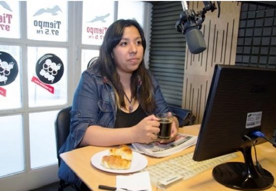 Luz Bustamante, referente de la ONG PAU.