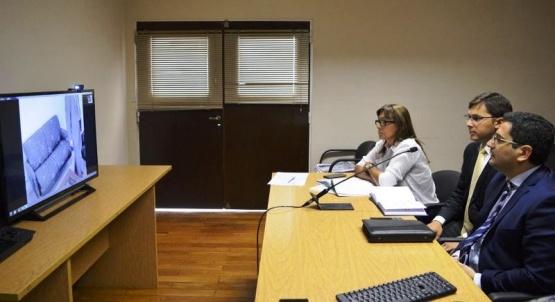 Por streaming observaron Cámara Gesell que se realizó en Río Gallegos