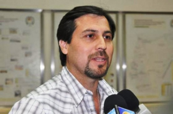Néstor Gonález, jefe comunal de Puerto Santa Cruz