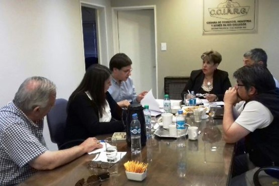 Los Concejales del FPV se reunieron con comerciantes locales