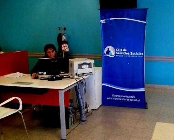 La Caja de Servicios Sociales cuenta con un escritorio de atención en el SAMIC