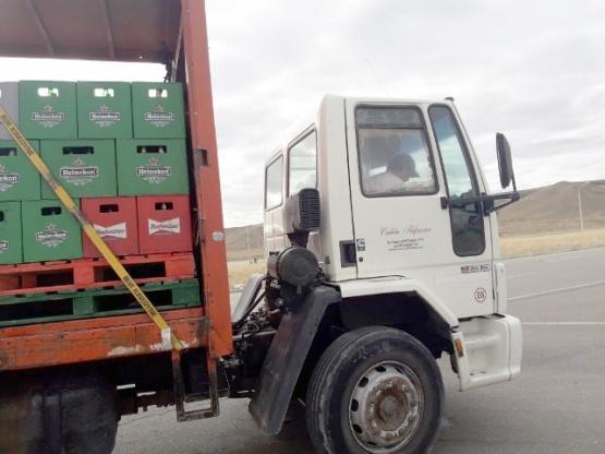 El camión fue secuestrado por falta total de documentación.