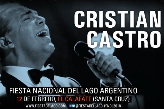 Fiesta del Lago: Cristian Castro y Karina en la apertura de esta noche