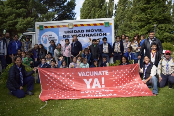 Salud presente en la 6° Fiesta Nacional del Lago de El Calafate
