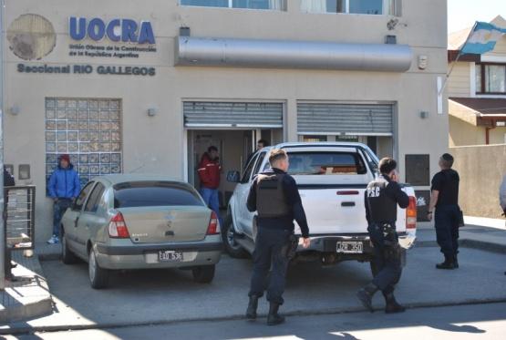 Secuestraron elementos tras allanamientos en UOCRA