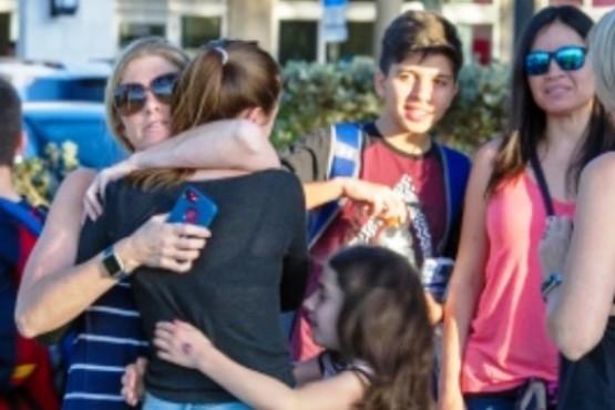 La argentina que sobrevivió al tiroteo en Florida: