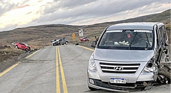 El siniestro vial fatal se registró en la tarde del martes .