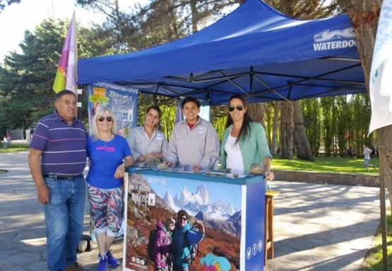 El Chaltén se promociona en la Fiesta del Lago