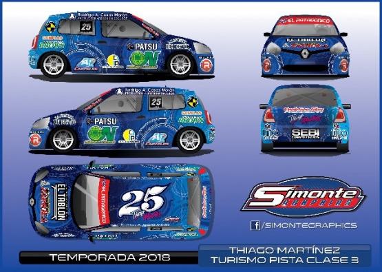 Thiago Martínez con diseño nuevo en el Clio #25