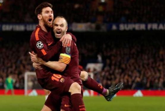 Messi, siempre en marcando.