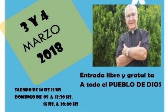 Jornadas de sanación con el Padre Betancourt en la ciudad
