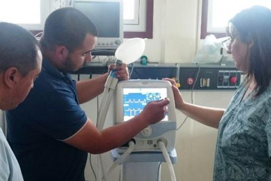 El Hospital de Puerto Deseado recibió nuevo equipamiento