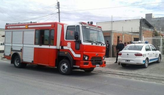 Bomberos movilizados por un principio de incendio