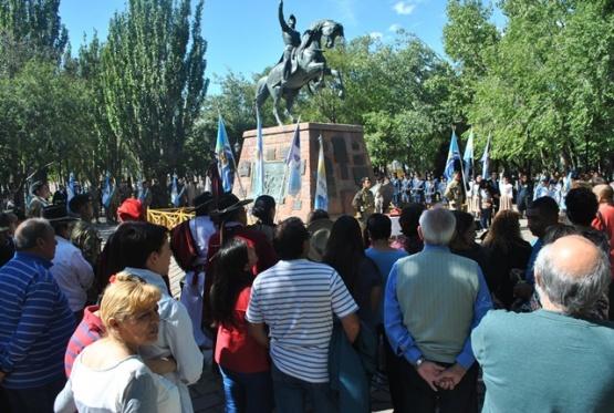 Conmemoraron el 240° Aniversario del Natalicio del General José de San Martín