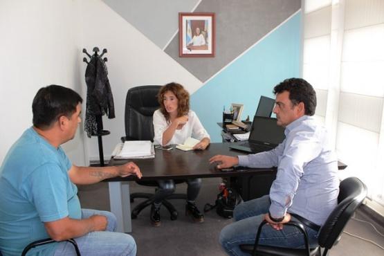 La Ministra de Salud se reunió con el Intendente de Puerto Deseado