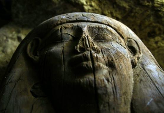 Una gran necrópolis egipcia fue descubierta al sur de El Cairo. Foto:dpa