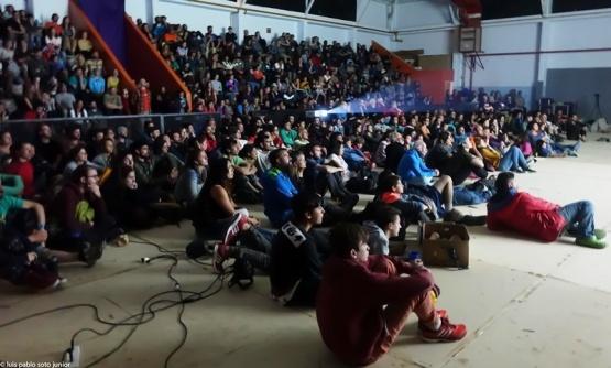 Gran concurrencia al l 3º Festival de Cine de Montaña de El Chaltén
