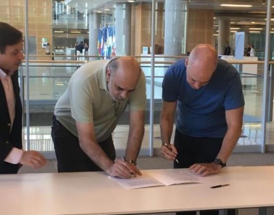 Giubetich firmará el convenio del Fondo fiduciario