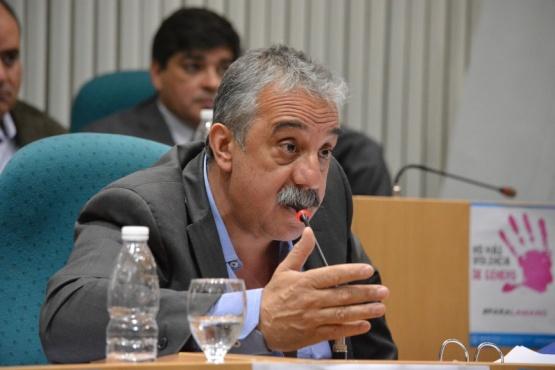 Mazú fue electo como presidente del bloque del FPV-PJ