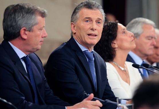 Macri inauguró el 136 período de sesiones ordinarias en el Congreso. Foto:NA