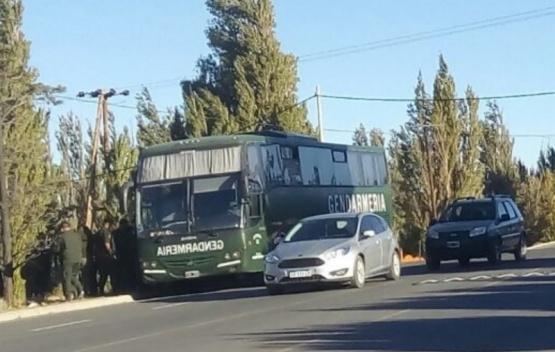 Los gendarmes debieron volver a Perito Moreno.
