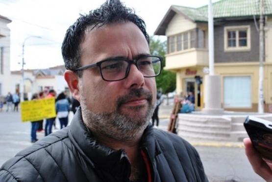 Secretario coordinador ejecutivo de la Municipalidad de Río Gallegos, Jorge Caminiti.