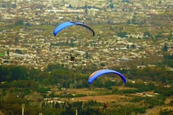 Tragedia en parapente: un hombre de 57 años murió en Mendoza