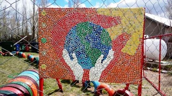 La Escuela Rural N° 48 concreta acciones para embellecer Bajo Caracoles