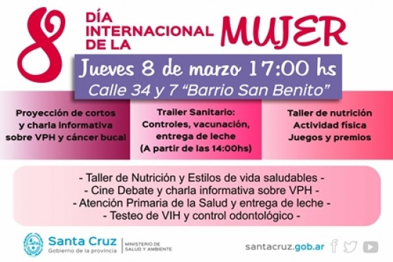 Jornada de salud para las mujeres en el San Benito