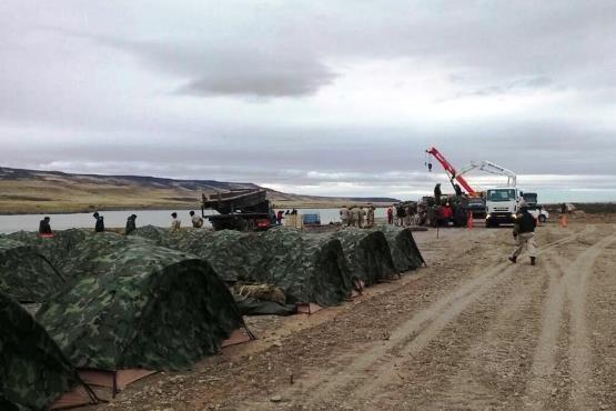 Avanzan las obras para la construcción de las represas