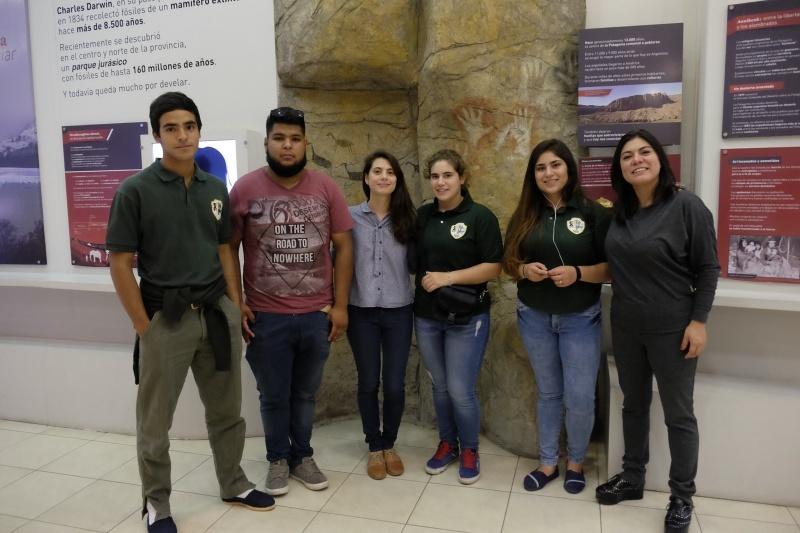 Los alumnos viajaron a Buenos Aires.