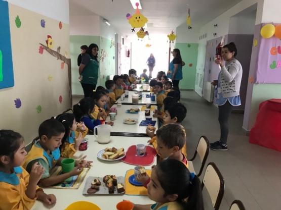 Celebraron los ocho años del Jardín de Infantes N° 58