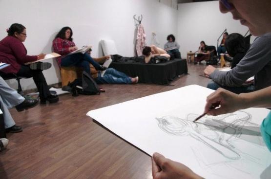 JAM de Dibujo (Sala Futura. Autor: Eduardo Aguirre)
