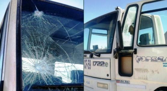Video: desocupados atacaron camión petrolero en plena ruta