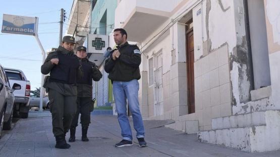 Allanan un departamento vip en Comodoro Rivadavia