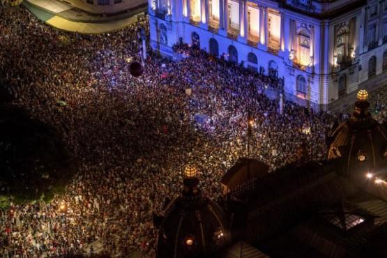 Miles de brasileños protestaron tras el asesinato de la política Marielle Franco