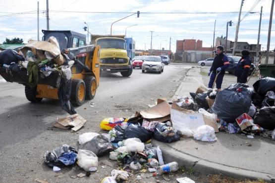 Recogieron la basura en los sectores más afectados