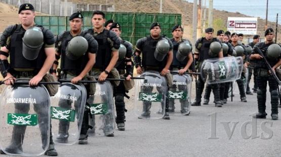 Destinan 800 gendarmes para reprimir