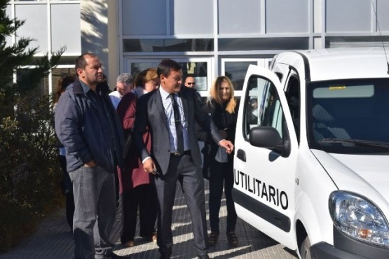 Presentaron nuevo equipamiento para el Hospital de Las Heras