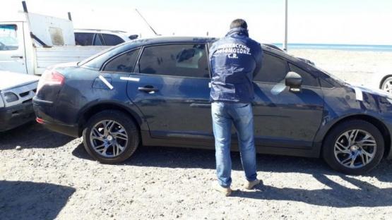 Recuperan auto robado en Caleta Olivia