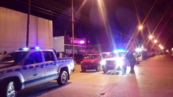 La Policía realizó operativo de seguridad en Río Gallegos
