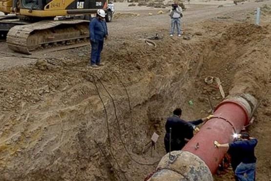 Rotura en el acueducto antiguo dejó sin agua a Caleta, Comodoro y Rada Tilly