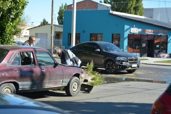 No hubo lesionados en colisiones