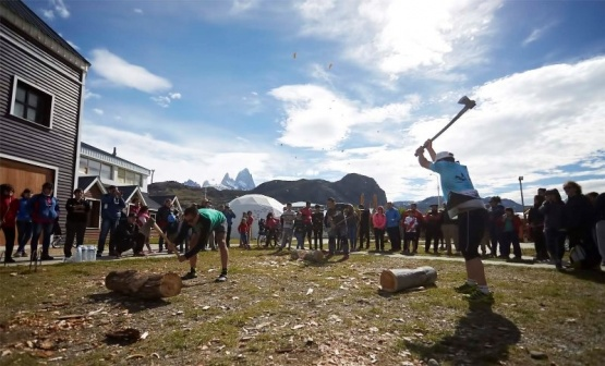 Fiesta Nacional del Trekking: Concurso de hacheros 2018