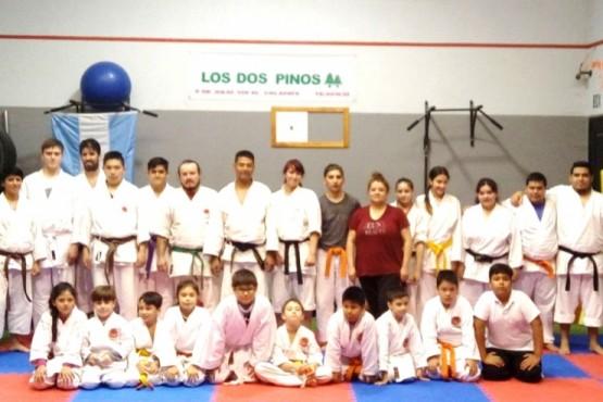 El karate tradicional sigue creciendo en la provincia.