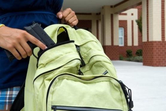Descubrieron a un alumno de 13 años con un revolver en la escuela