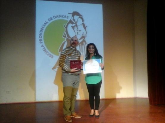 """Fue reconocido """"Cacho"""" Balois Pardo en el Día del Bailarín Folklórico Santacruceño"""