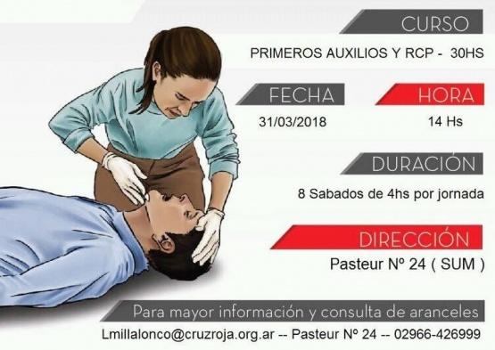 Cruz Roja brinda otro curso para tener herramientas que salven vidas
