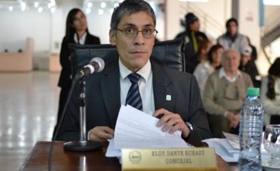 Concejal Eloy Echazú.